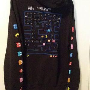 Pac Man Hooded Sweatshirt